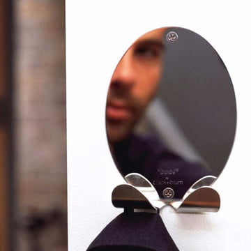 BOO! Mirror coat hook by Black + Blum