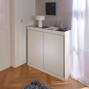Flai Chest of Drawers with Doors by Müller Möbelwerkstätten