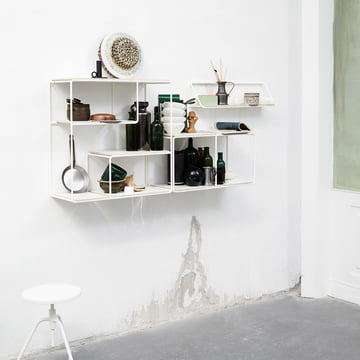 Korridor - AnyWhere wall shelf, white