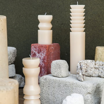 Areaware - Totem Candles, sand