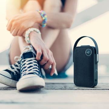 The Libratone - One ClickBluetooth Speaker in Graphite Grey