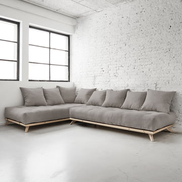 Senza Sofa from Karup in Pine Nature / Granite Grey