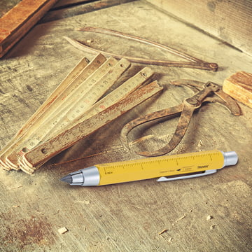 Carpenter's 5.6 Clutch Pencil by Troika in Yellow
