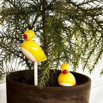 Sparrows with stick (set of 2) by Kay Bojesen Denmark
