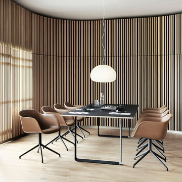Dining Table in the Conference Room