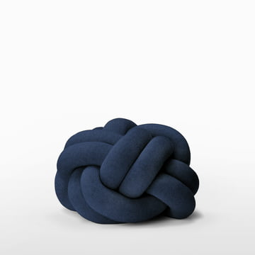Design House Stockholm - Knot Cushion, navy