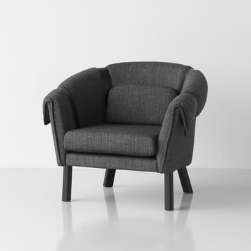 Design House Stockholm - Ram Easy Chair, dark gray