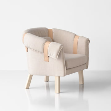 Design House Stockholm - Ram Easy Chair, light gray