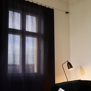 Ready Made Curtain in dark blue
