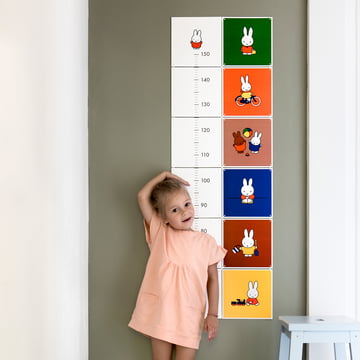Miffy Growth Chart by IXXI from the Children Collection