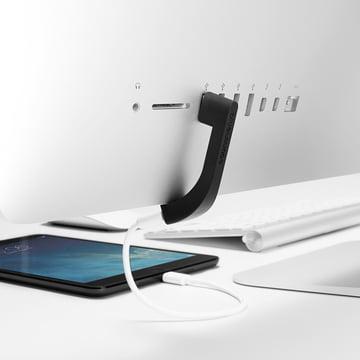 Bluelounge - Jimi USB Port Extension, black