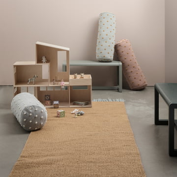 ferm Living - Nomad Rug, curry