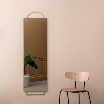 Adorn brass mirror by ferm Living