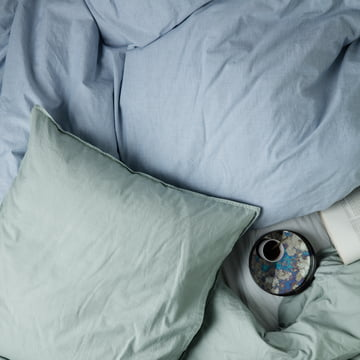 Hush bedding and Coupled Tray by ferm Living