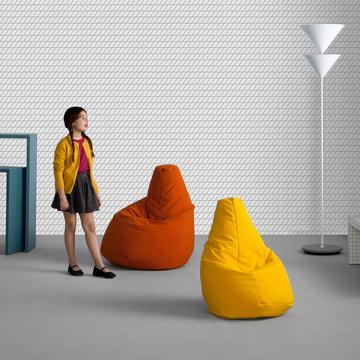 Sacco beanbags by Zanotta