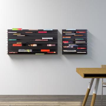 spectrum - Paperback shelving system (anthracite),