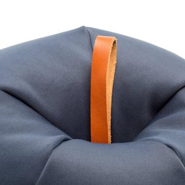 Sitting Bull - Plum Beanbag, plum blue
