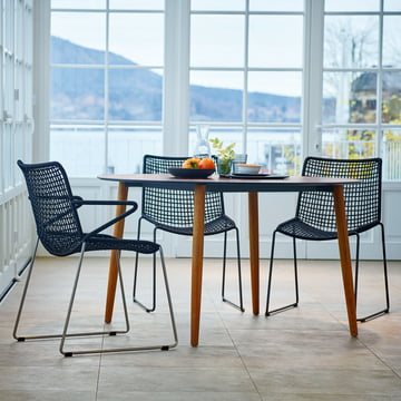 Slope Table and Chairs by Weishäupl
