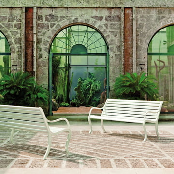 Oasi Bench by Fast for the garden