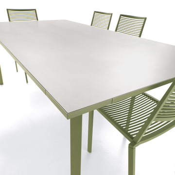 Tile Garden Table by Fast