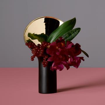 The Fondale Vase by Rosenthal in matt black