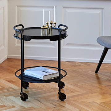 Serve it Side Table by Sack it With Tray it