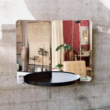 124° mirror with shelf by Artek