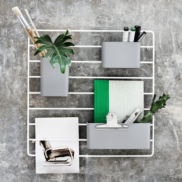 Organizer boxes (set of 3) by String on the Wall Grid
