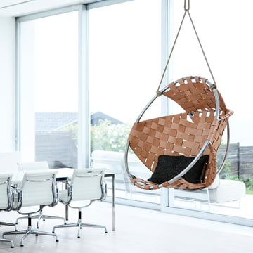 The Trimm Copenhagen - Cocoon Hang Chair in natural leather