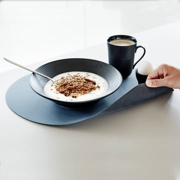 Table Mat by LindDNA out of recycled leather