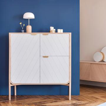 Hartô - Marius Cabinet 120 cm, light grey (RAL 7035)