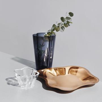 Aalto Flat Bowl with Aalto Vase