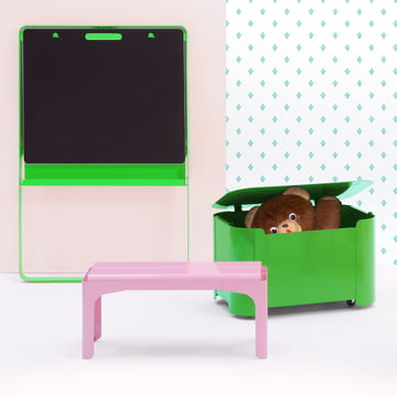 Crocodile Kids Bench and Turtle Storage Box