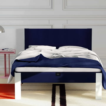 The Muun - Bed Frame in White