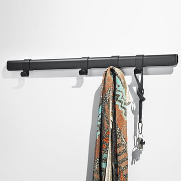 The Million - Hug Coat Rack, 90 cm / 4 hooks in black