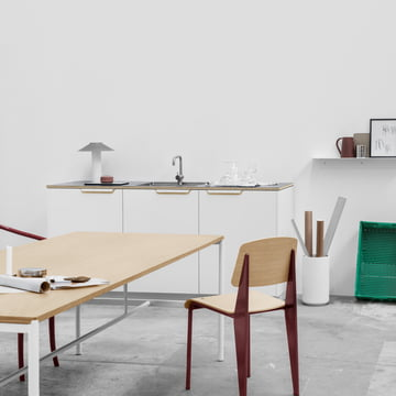 Mies dining table by Million