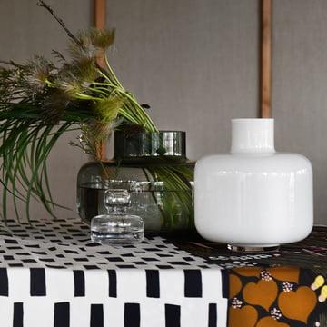 Flower Vase and Urna Vase by Marimekko