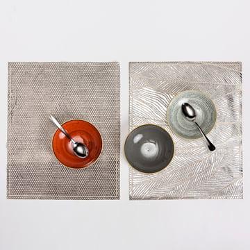 Mika Barr - Pinion Placemat, 50 x 40 cm, silver