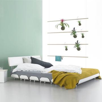 Fauler Strick Wardrobe and Tiefschlaf Bed by Stadtnomaden