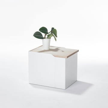Stadnomaden - Sammler Storage Container S in Ash as Side Table