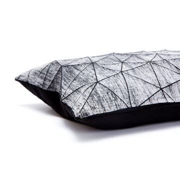 Mika Barr - Irad Cushion Cover, 55 x 40cm, black