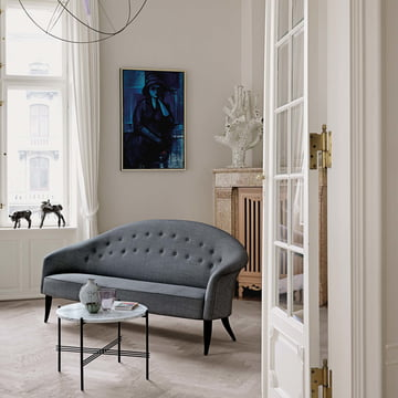 Paradiset Sofa and TS Coffee Table by Garner in the Living Room