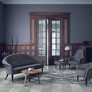 Paradiset Sofa by Gubi in the Living Room