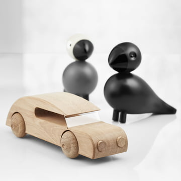 Raven Songbird and Sedan Car by Kay Bojesen