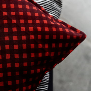 Okko Cushion Cover 40 x 40 cm by Marimekko in Red