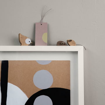 Winterland Mice and Birds with Gift Tag by Ferm Living