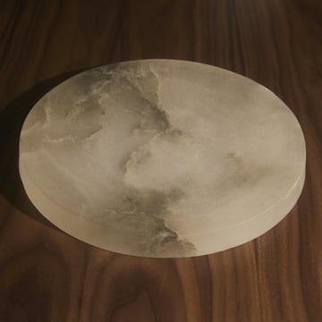 Menu - Circular Bowl, cloud stone