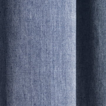 Chambray Shower Curtain by ferm Living in Blue