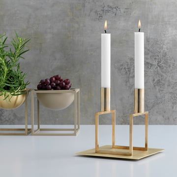 Line with Base from by Lassen in Brass