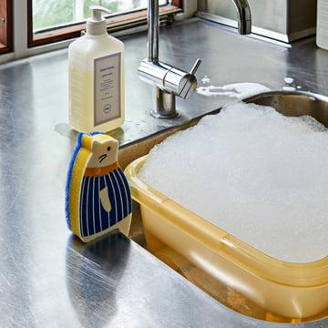 Hay - Turkish Washing Up Basin, light yellow - Cat Sponge